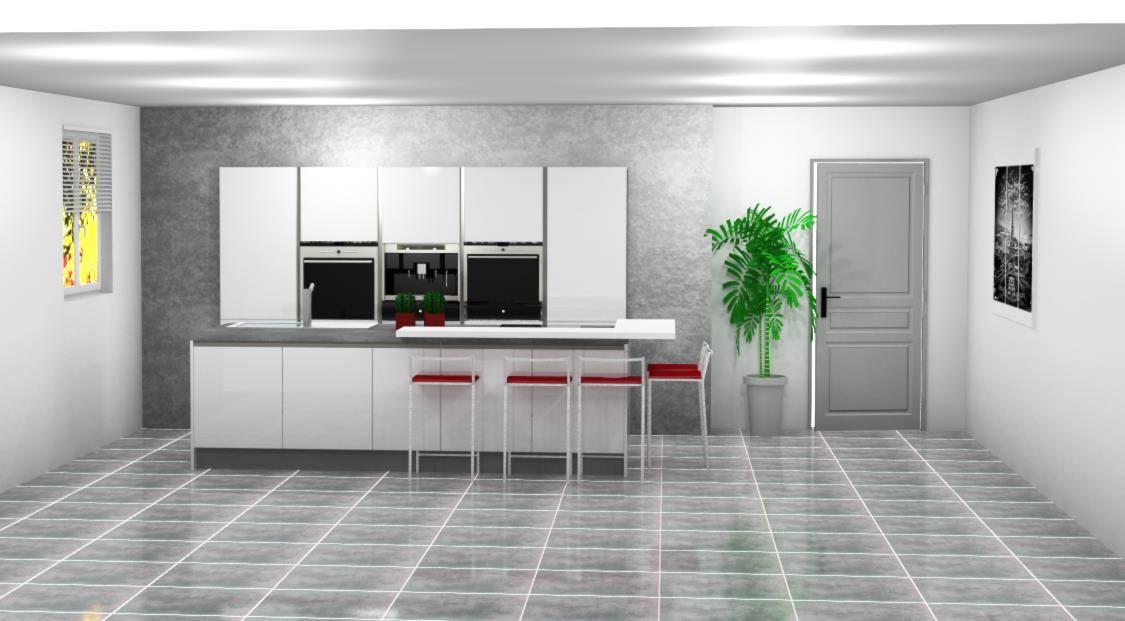 Plan de cuisine gignac la nerthe cuisiniste bouches du for Plan agencement cuisine